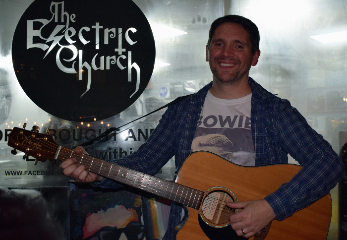 tim lee at the Electric Church in Winsford