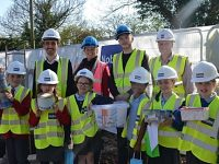 Nantwich pupils enjoy Time Capsule competition at new Tesni housing scheme