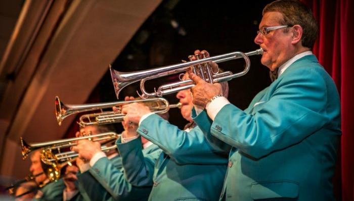 todd miller and joe loss band at nantwich civic hall for councillor moran's birthday