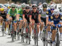 Thousands line Nantwich streets to watch Tour of Britain
