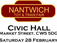 Nantwich Toy and Train Fair planned for Civic Hall