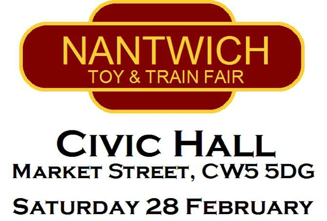 toy and train fair poster