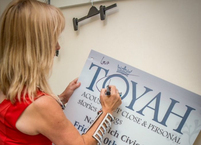 toyah willcox signs posters