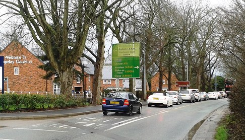 Nantwich road junction changes planned by David Wilson Homes