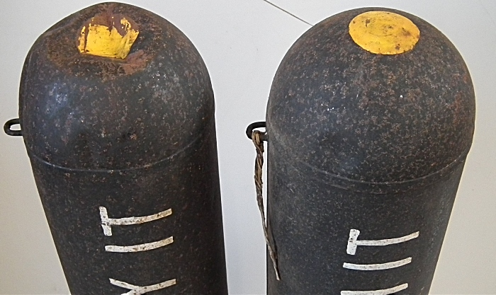 training bombs for auction in nantwich