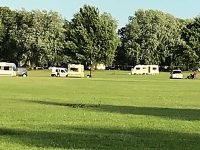Travellers defy court order to leave Barony Park in Nantwich