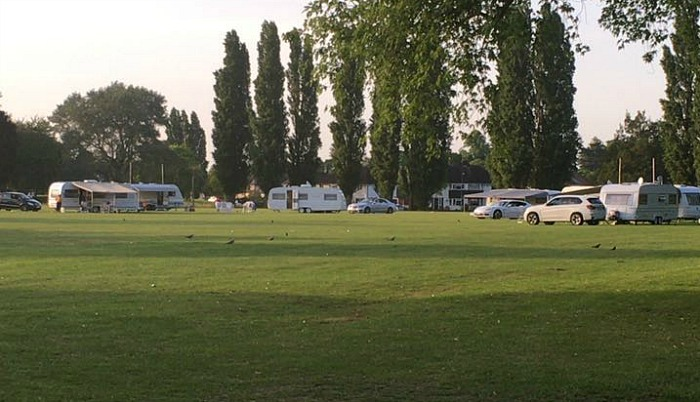 travellers on Barony Park