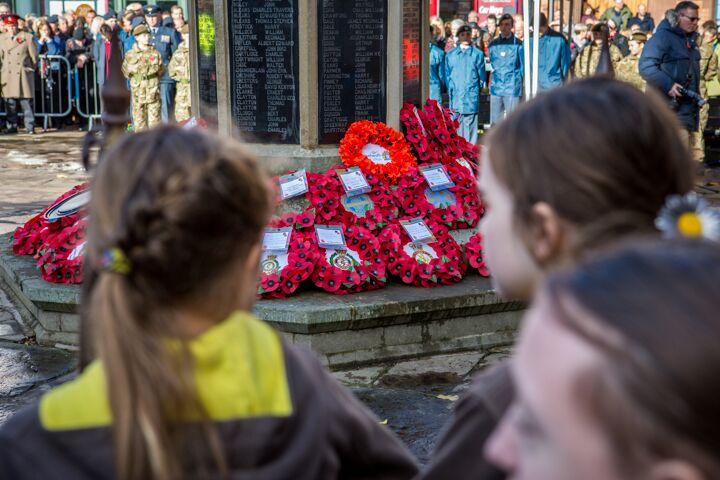 Armistice centenary in Nantwich 11