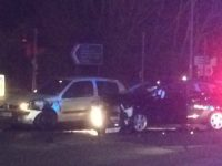 Several  involved in two-car collision on busy Nantwich junction