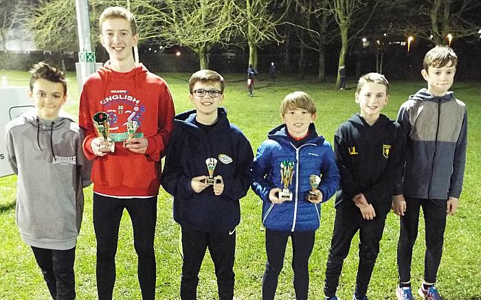 u13 boys team 1st kacper Mikulski Oliver Atkinson elliot Davies-Hayes Isaac Leydon Jack Harrrison