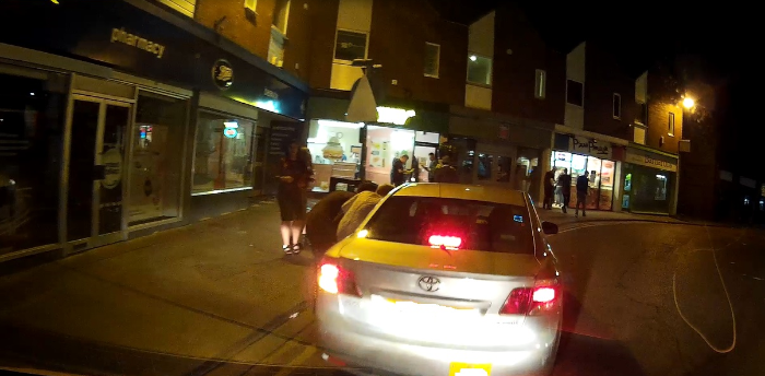 unlicensed taxi driver in Nantwich