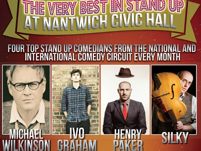 comedians in very best in stand up feb 2016 poster