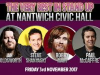 'Very Best in Stand Up' returns to Nantwich Civic on November 3
