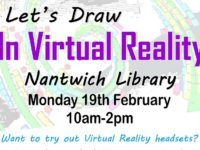 Nantwich Library to stage Virtual Reality half-term workshop