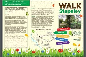 Stapeley Action Group launches new 'Walk Stapeley' guide