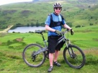 Nantwich dad rides 75km mountain challenge for MRI scanner appeal