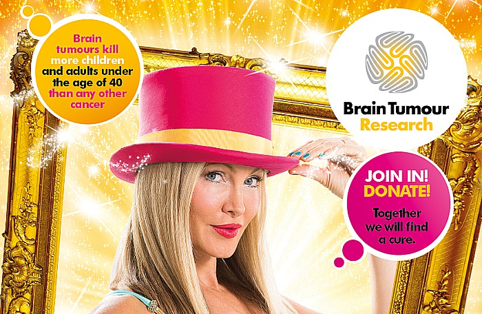 wear a hat day for brain tumour research