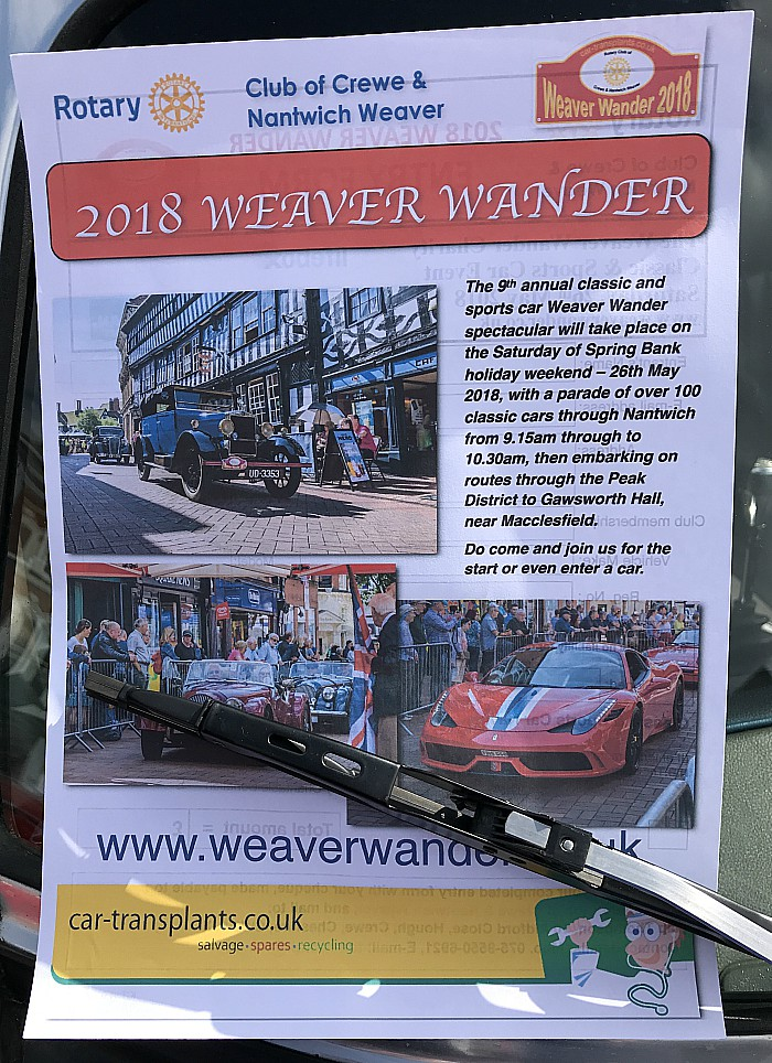 weaver wander flyer 2018