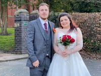 Wistaston couple arrange wedding in 2 hours to beat Coronavirus Lockdown!