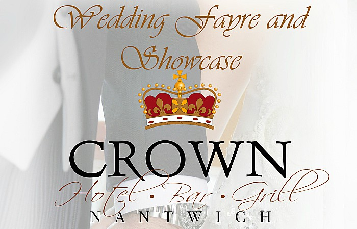 wedding fayre event at crown hotel in nantwich