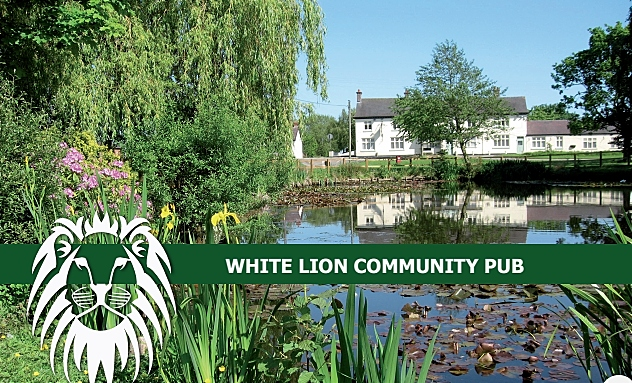 white lion pub in hankelow