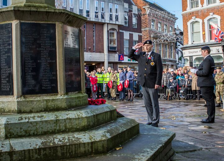 Armistice centenary in Nantwich 8