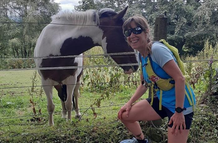 wildlife - Lidia training for ultra marathon