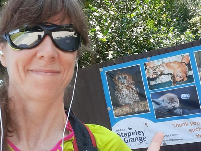 wildlife - lidia to run for RSPCA