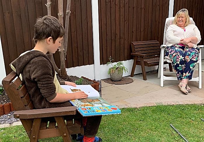 willaston pupils in reading challenge
