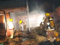 Man injured after fire ripped through stable in Willaston