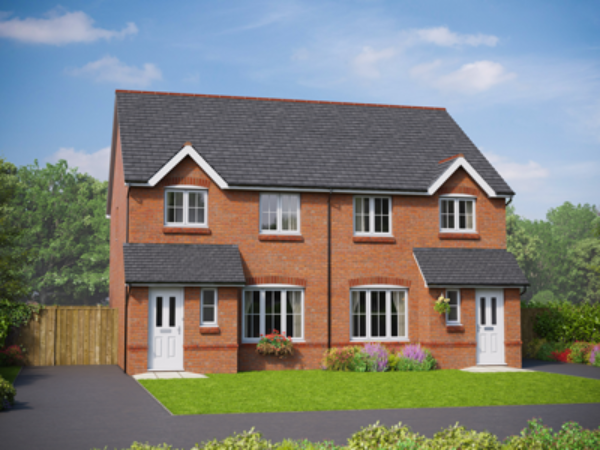 willow grange affordable homes in Willaston