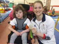 Olympic star Bryony Page helps Wingate Centre celebrate 30th birthday