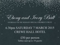 Charity ball to raise Wingate Children's Centre funds