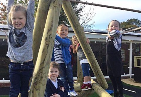 Wistaston Church Lane Academy unveils revamped outdoor area