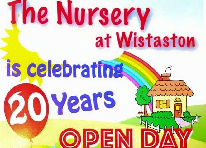 wistaston nursery open day