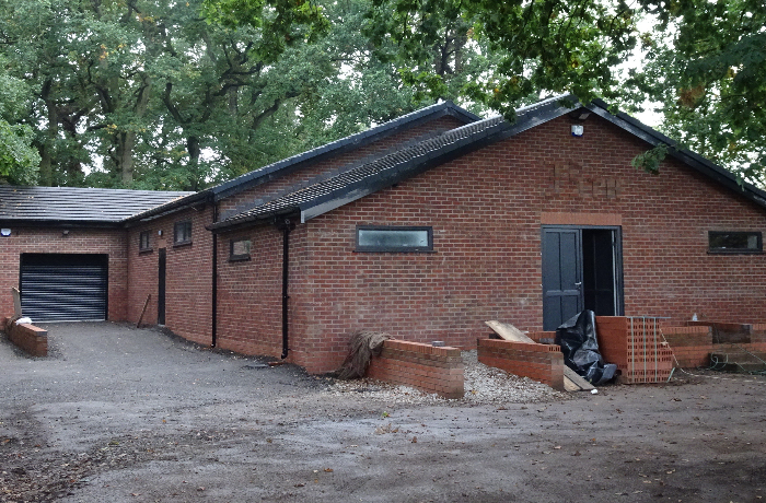 wistaston scout headquarters - pic by Jonathan White