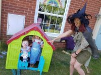 """Wizard of Oz"" stage entertains Nantwich families in lockdown"
