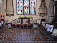 Wrenbury Art Group help village Remembrance Service
