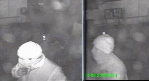 CCTV pics of men wanted over Wrenbury post office burglary, Nantwich