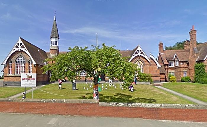 wrenbury primary school - google street maps