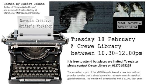 Budding Nantwich writers invited to new Crewe Library workshop
