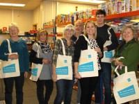 Wulvern helps out Nantwich Foodbank hit by bag charge