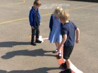 Jaguar staff help Wybunbury youngsters revamp school play area