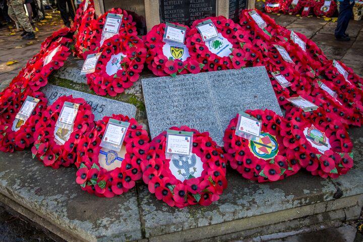 Armistice centenary in Nantwich 13