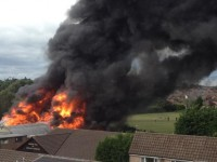 Fire crews tackle major blaze in Crewe youth centre