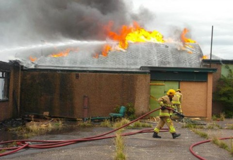 Crewe youth centre blaze suspected arson, say police and fire chiefs